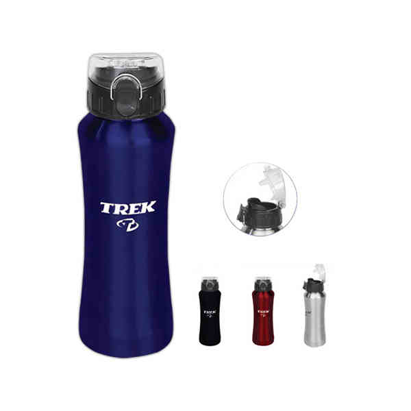2013 Promotion aluminum lgo water bottle