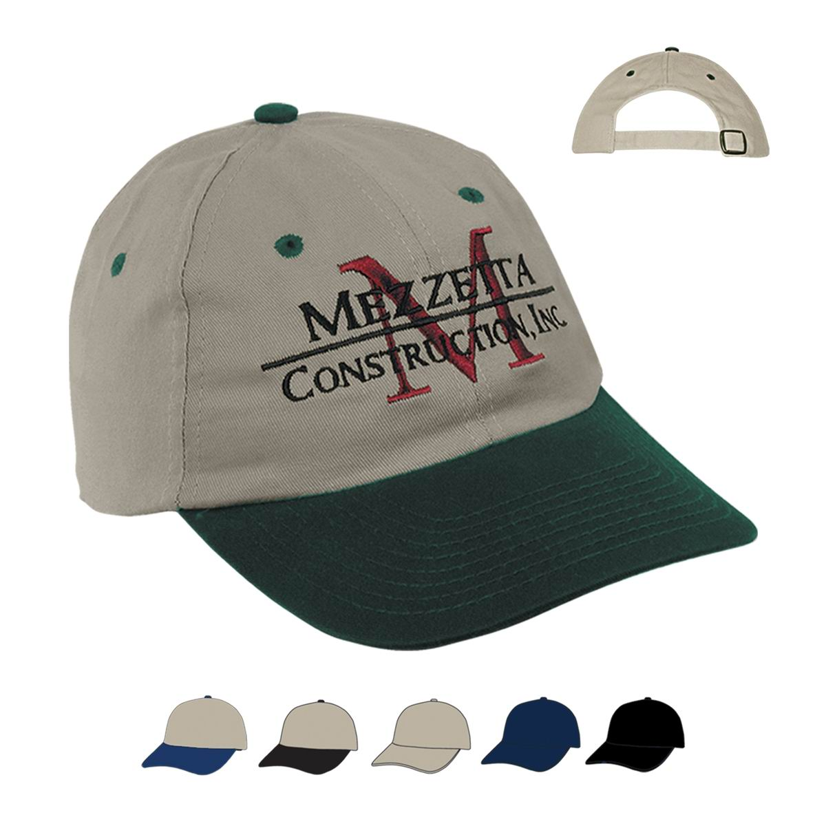 Corporation 6 panel two tone cap