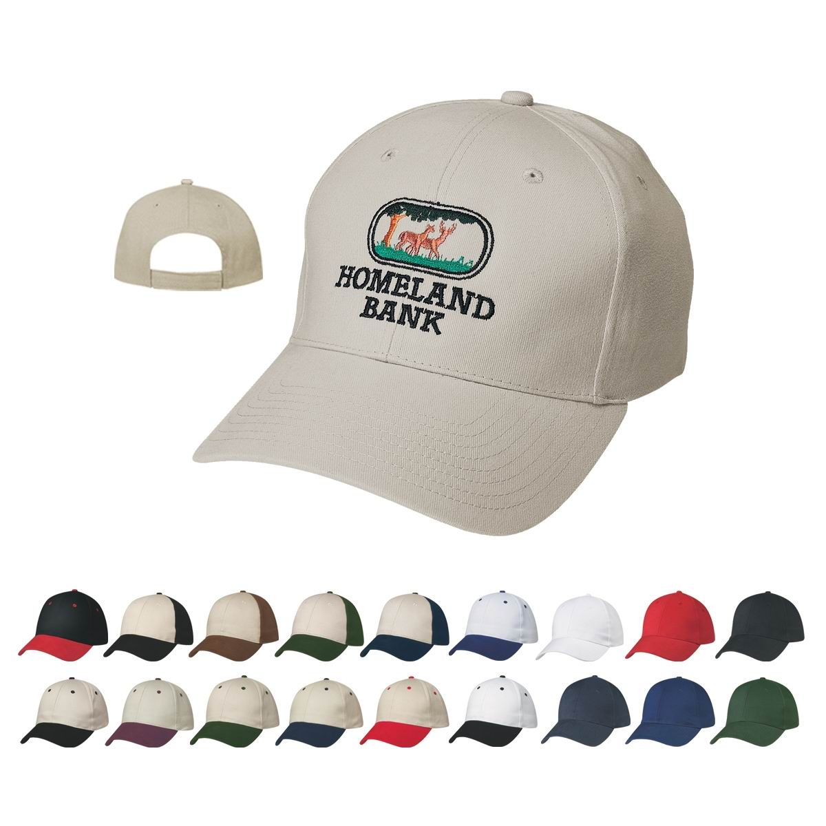 Price buster cap features 6 panel