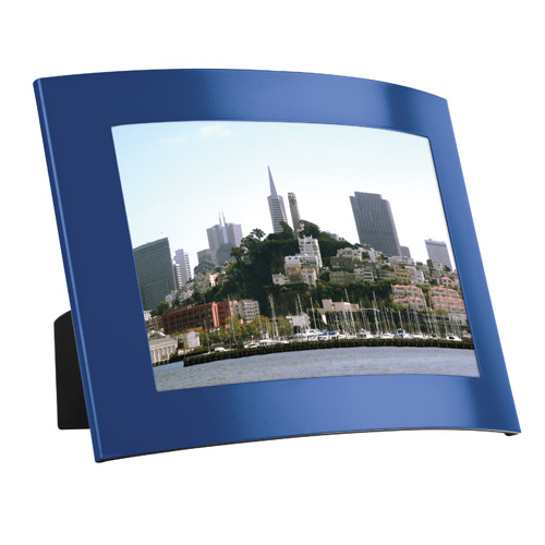 "4""x6"" Aluminum curved photo frame"