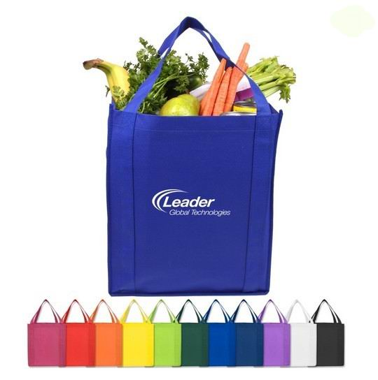 Saturn Jumbo Nonwoven Grocery Tote Bag