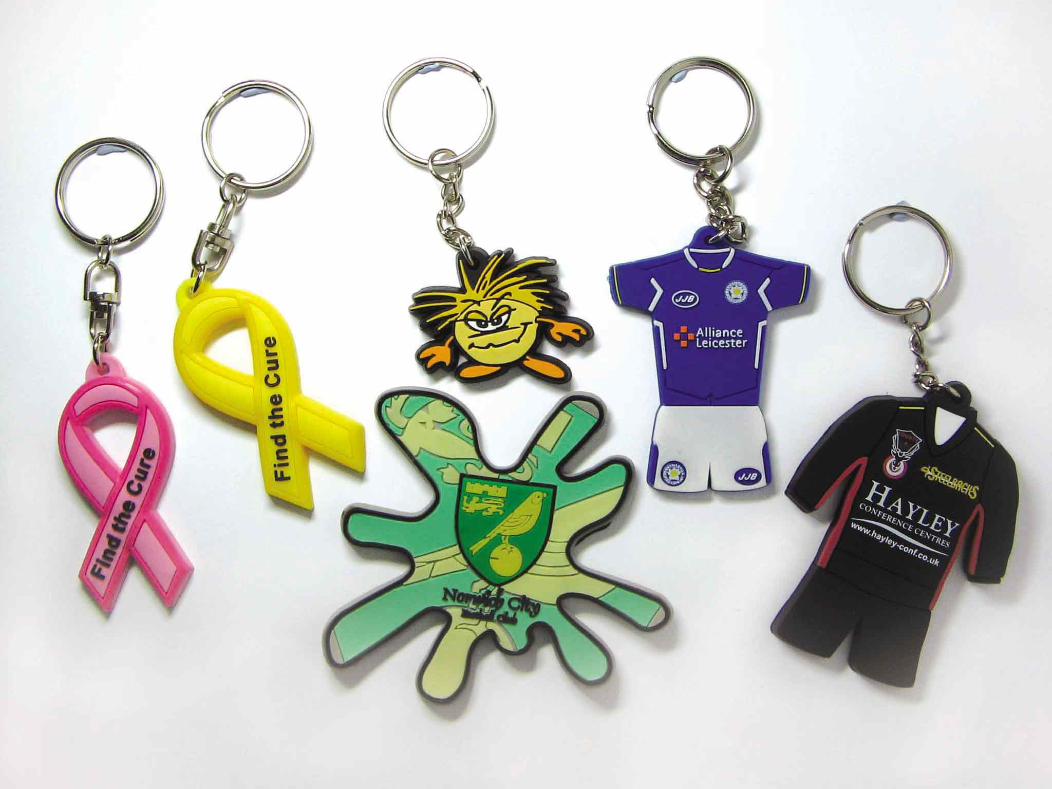 Custom Made Promotional Silicone Keychain