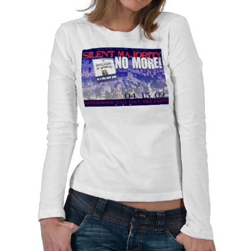 Ladies long sleeve poly blend funky t shirts