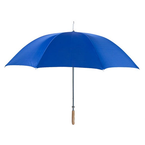 "Royal blue 48"" arc umbrella"