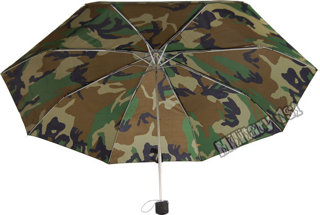 Camouflage mini auto open/close umbrella